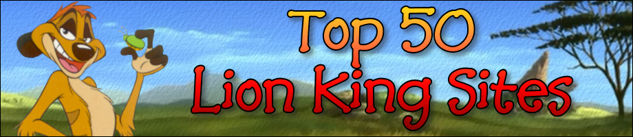 Top 50 Lion King Sites