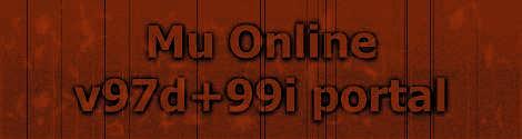 Mu Online 97d99i portal