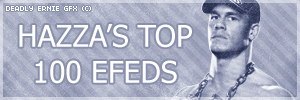 HAZZA'S TOP 100 EFEDS