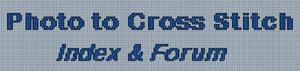 Photo to Cross Stitch Index & Forum