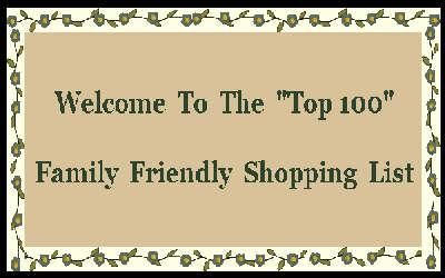 Family Friendly Shopping