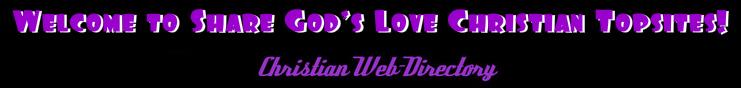 Share God's Love Christian Topsites