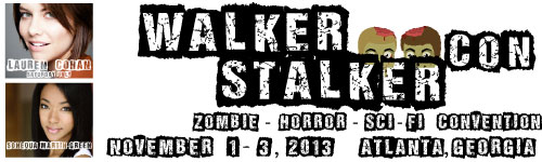 FIRST EVER WALKER STALKER CONVENTION COMING TO ATLANTA IN NOVEMBER 2013