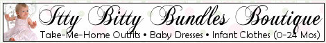 Itty Bitty Bundles Newborn Baby & Infant Clothes