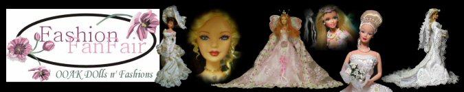 FashionFanFair OOAK Dolls and Fashions