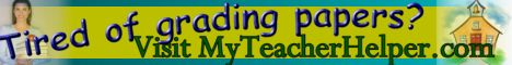 MyTeacherHelper.com - FREE - Tools for Teachers