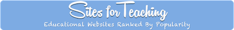 Sites For Teaching - Educational websites ranked by popularity