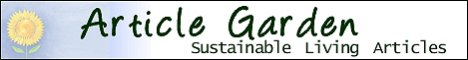 Sustainable Living Articles