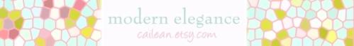 Modern Elegance at Etsy.com