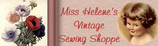 Miss Helene's Vintage Sewing Shoppe