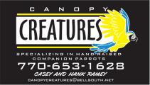 Canopy Creatures