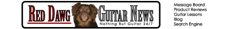 Red Dawg Guitar News