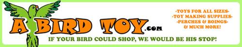 A Bird Toy - Parrot Toys