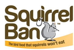 Squirrel Ban - Stop Squirrels - Squirrel Proof Bird Food