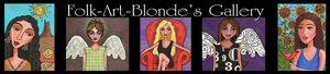 Folk-Art-Blonde Gallery @ Zazzle
