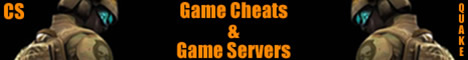 Game Cheats & Game Servers, Quake, Counter Strike, cheats and online servers