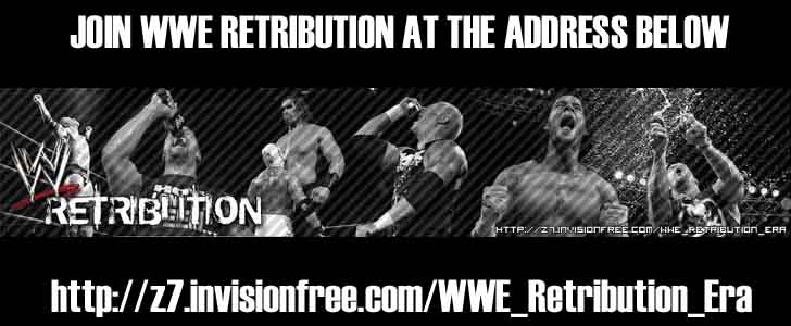 WWE RETRIBUTION