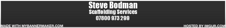 steve bodman scaffolding services