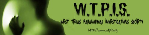 West Texas Paranormal Investigations Society