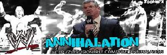 ||>>> WWE Annihalation  <<<||