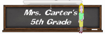Mrs. Carter's Class
