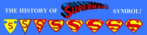 Superman's Symbol, Shield, Logo and It's History!