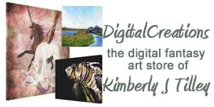 Kimberly J Tilley - digital fantasy art