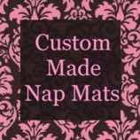 Custom Baby Boutique ~ Nap Mats and Diaper Bags + Sippy Cups...all Personalized!