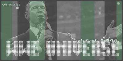 �� WWE: UNIVERSE