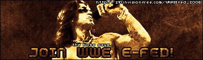 � WWE E-FED �