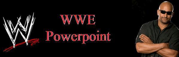 WWE Powerpoint