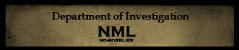 NO MORE LIES - NML - Department Of Investigation