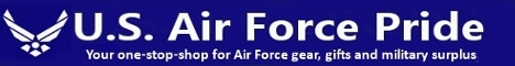 U.S. Air Force Pride Gear, Gifts and Military Surplus