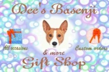 Dee's Basenji-n-more Gift Shop