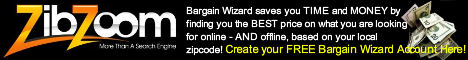 ZibZoom FREE Portal and Bargain Wizard