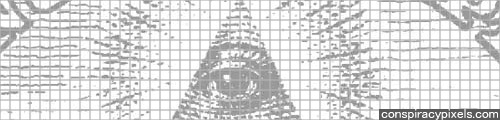 Conspiracy Pixels: Free Conspiracy Link Site Pixel Mosaic