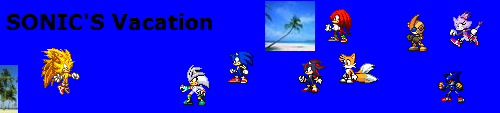 SONIC'S Vacation