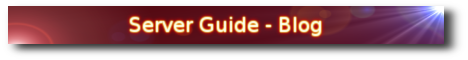 Server Guide - Blog