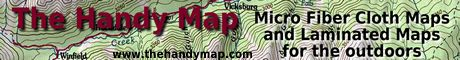 The Handy Map - Micro Fiber Maps for fishermen