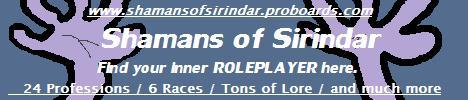 Shamans of Sirindar
