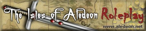 The Isles of Aledeon - Roleplay World