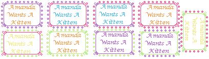~Amanda Wants A Kitten~