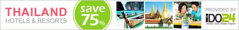 Online Booking! Best Hotels&Resort in Thailand