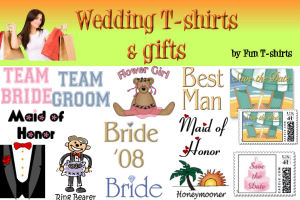 Wedding t-shirts & gifts - by Fun T-shirts