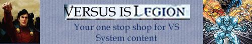 VS System is LEGION