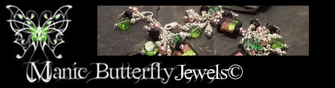 Manic Butterfly Jewels