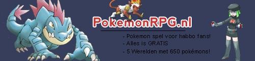 PokemonRPG.nl - Online Pokemon Spel!