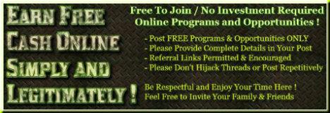 Earn Free Cash Online Simply & Legitimately fb Group