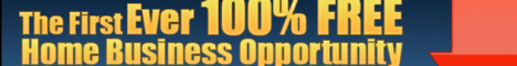 The First Ever 100% Business Opportunity - that takes practically no time