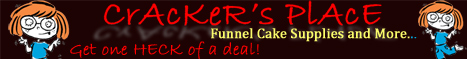Funnel Cake Supplies and More - Cracker's Place